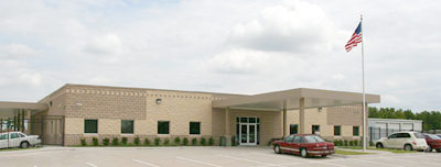 Senior Center Resources and Public Transit building