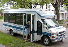 public transit services are available to all residents of Hunt County